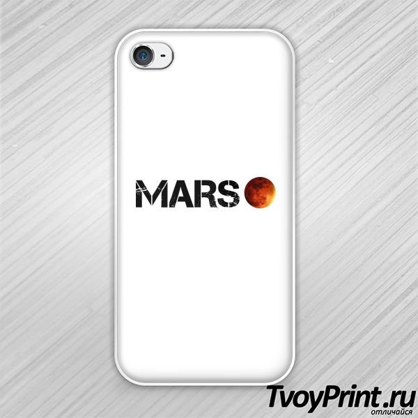 Чехол iPhone 4S mars