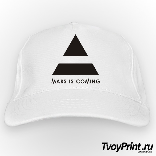 Бейсболка 30 seconds to mars is coming