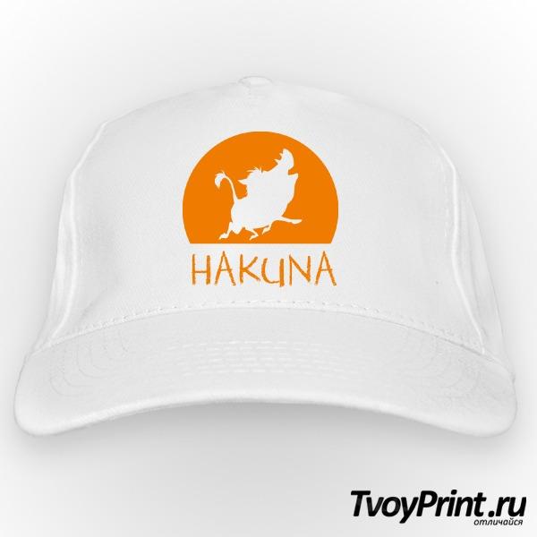 Бейсболка  Hakuna Matata (пумба)