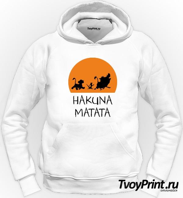 Толстовка Hakuna Matata