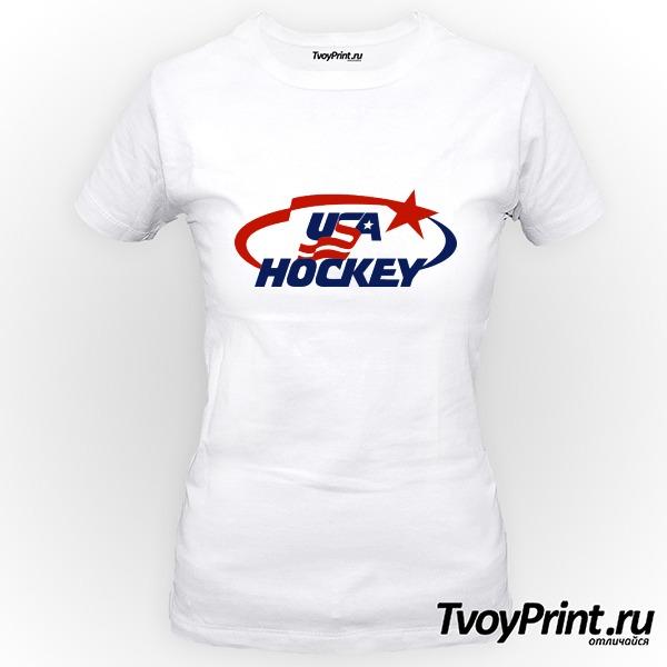 Футболка USA Hockey
