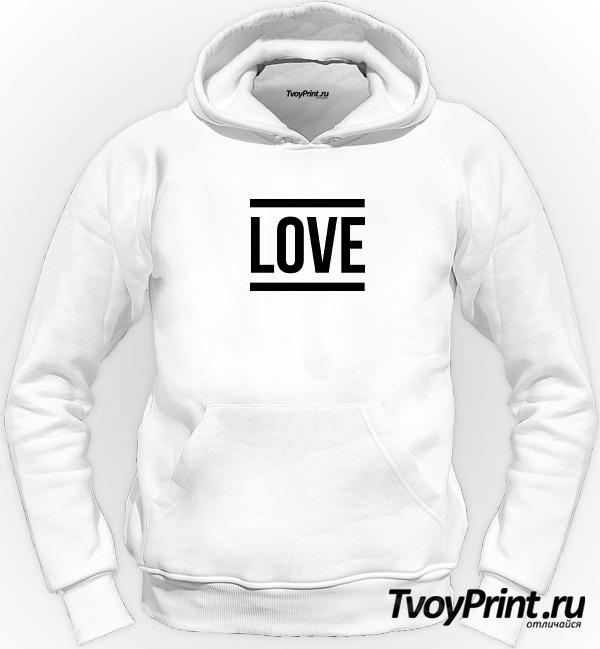 Толстовка one love 1