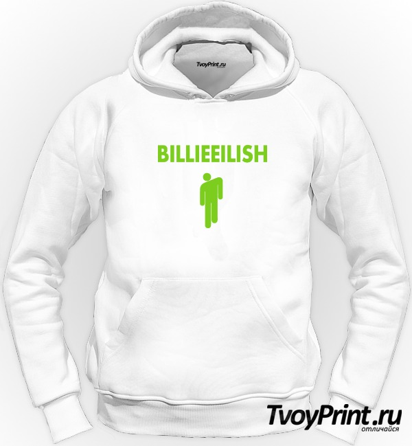 Толстовка Billie Eilish logo