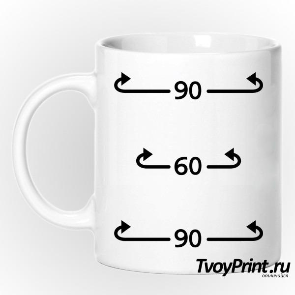 Кружка Идеальные параметры 90-60-90