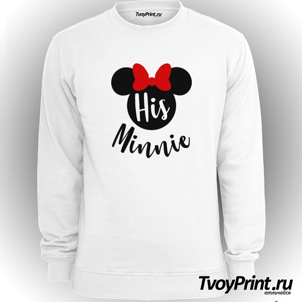 Свитшот His minnie