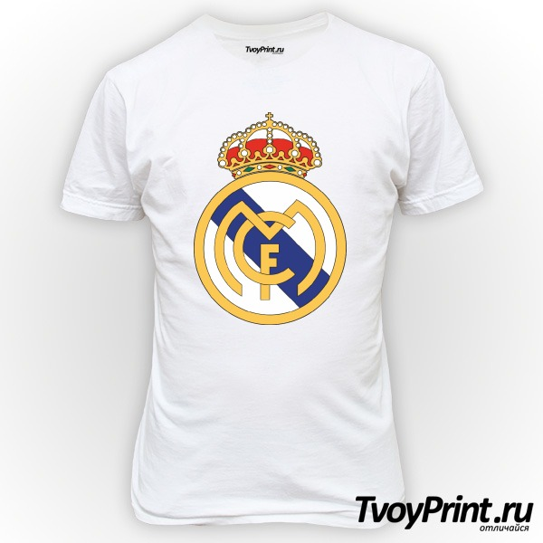 Футболка Real-Madrid