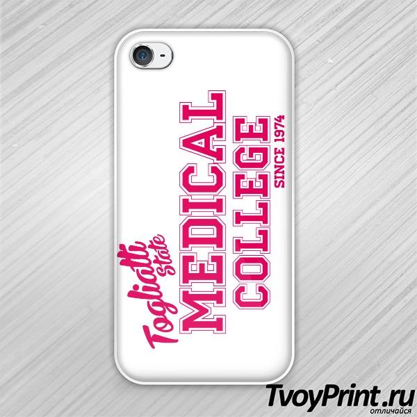 Чехол iPhone 4S Медицинский колледж