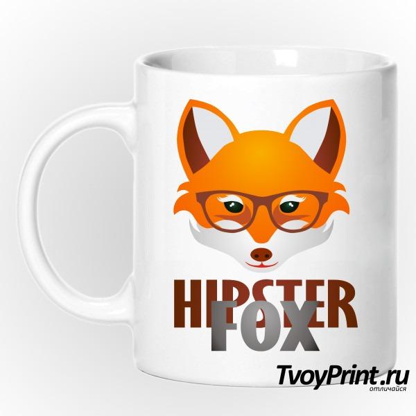 Кружка Hipster Fox
