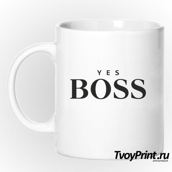 Кружка yes boss