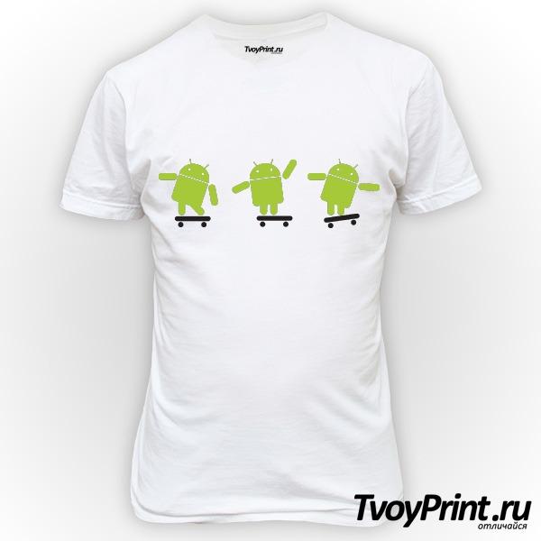 Футболка Android