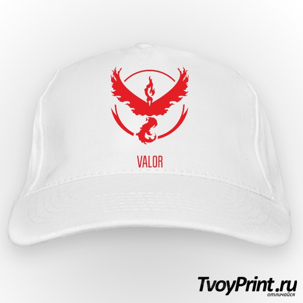 Бейсболка Red Team Valor Pokemon Go Красная команда