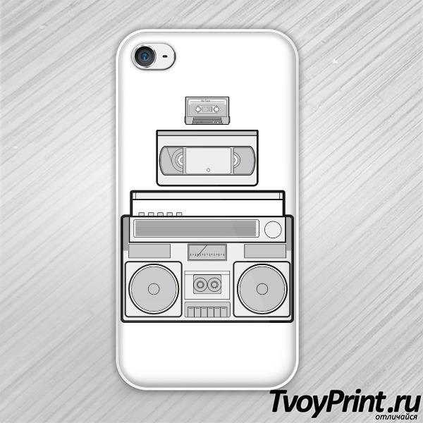 Чехол iPhone 4S Ретро