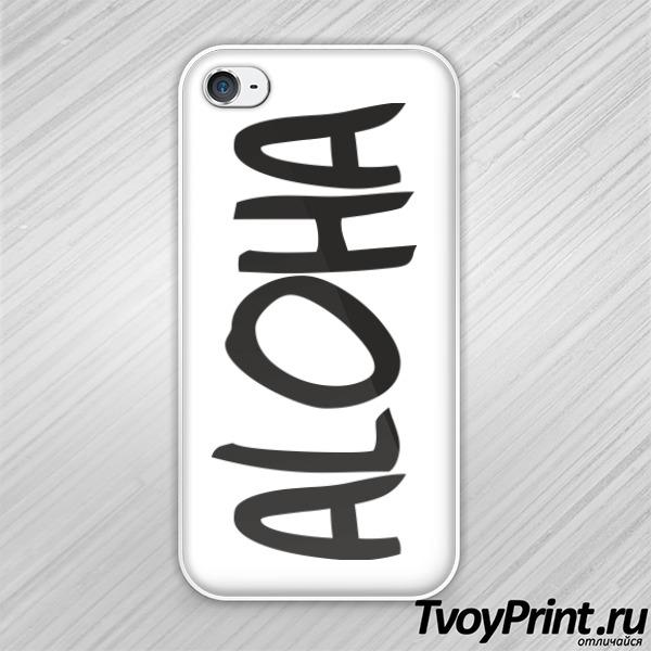 Чехол iPhone 4S ALOHA