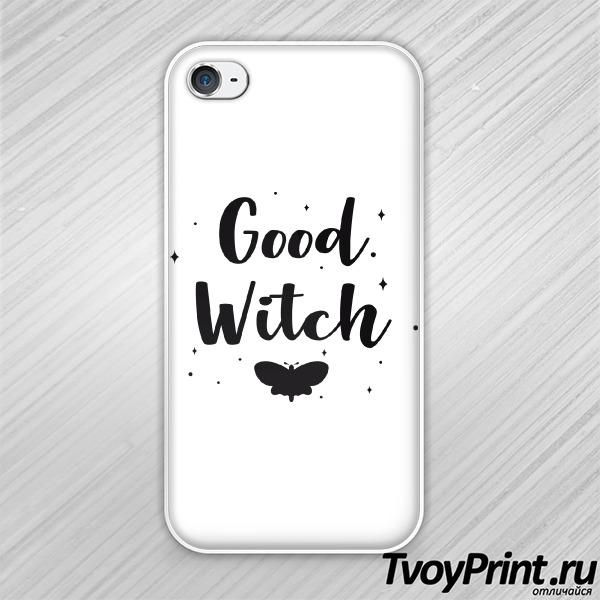 Чехол iPhone 4S Good witch
