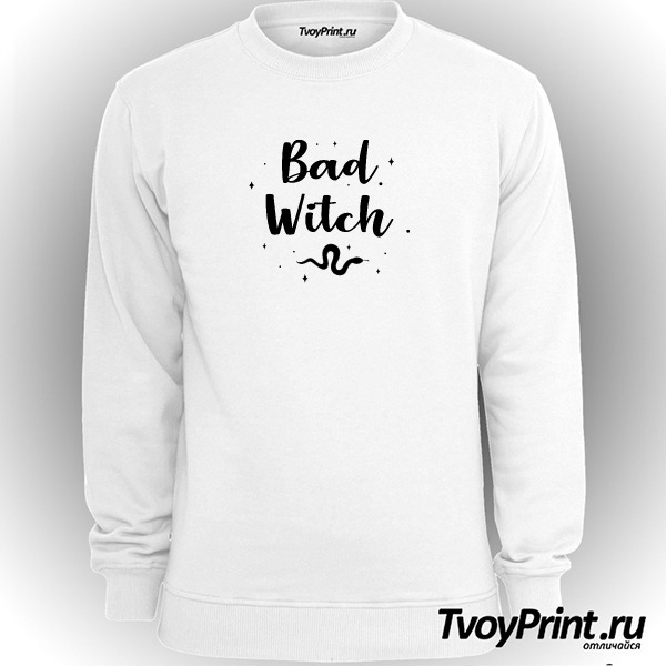 Свитшот Bad witch