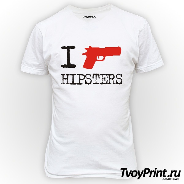 Футболка I Shoot Hipsters
