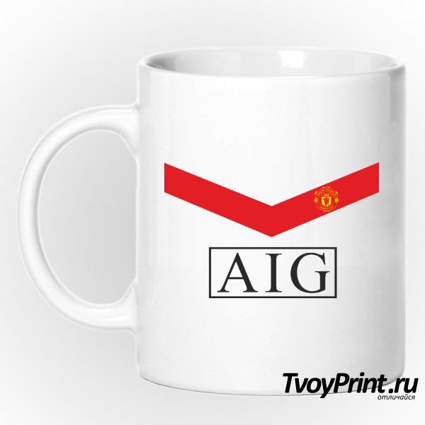 Кружка Manchester United (форма 1)