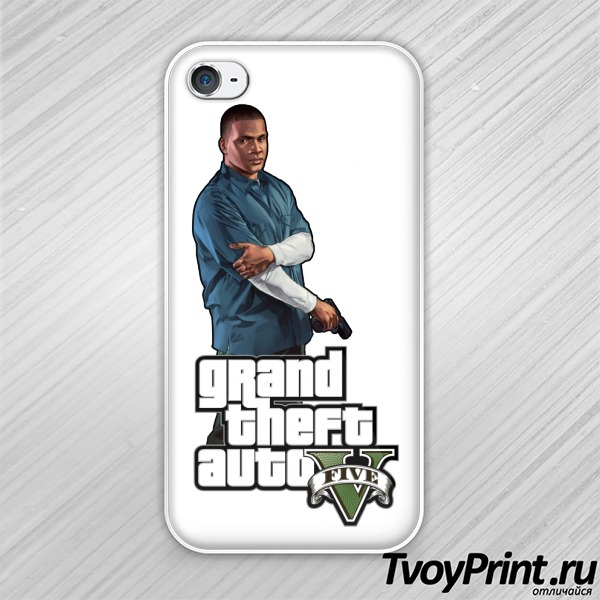 Чехол iPhone 4S Gta 5: Franklin