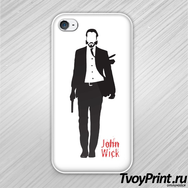 Чехол iPhone 4S john wick