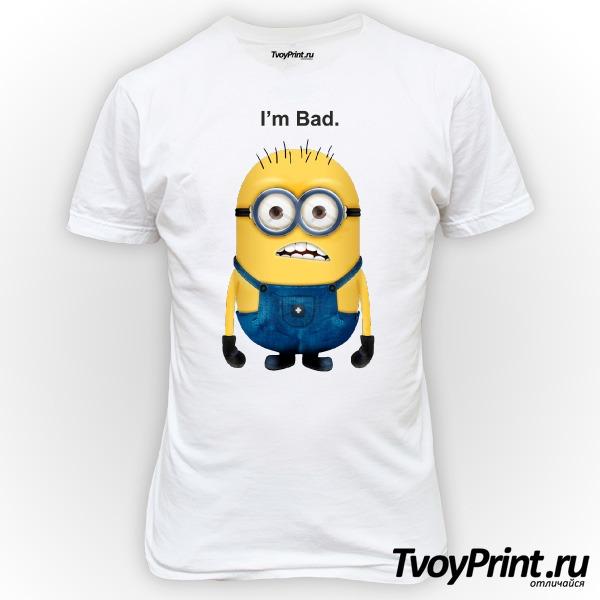 Футболка Миньон (I am Bad)
