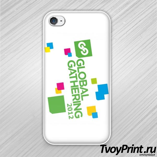 Чехол iPhone 4S Global Gathering (7)