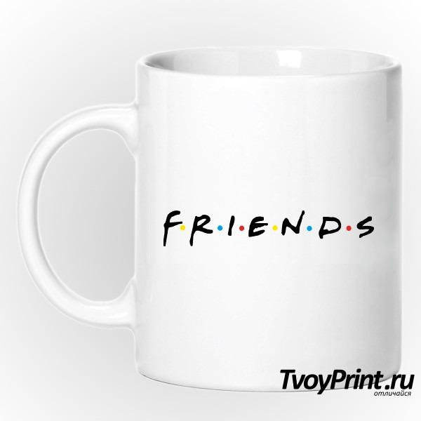 Кружка the friends logo