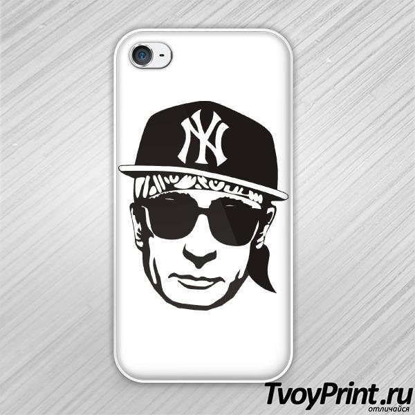 Чехол iPhone 4S Путин NY