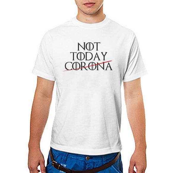 Футболка Not TODAY CORONA