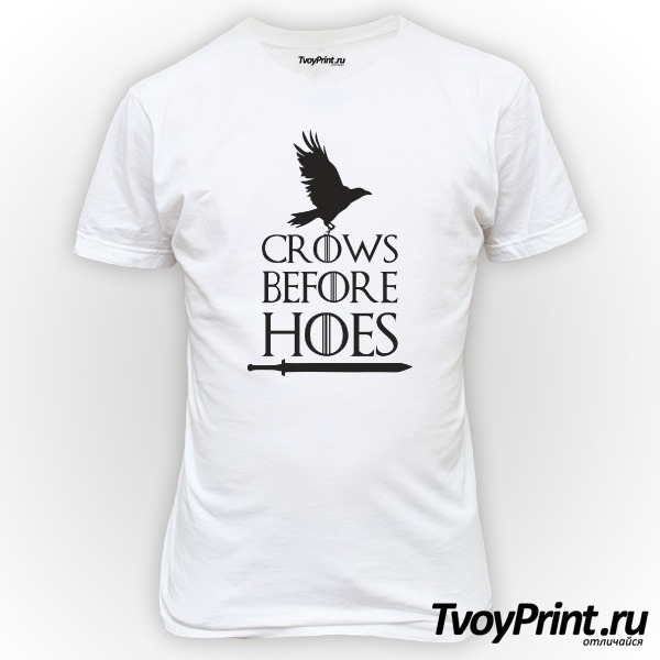 Футболка Got Crows Before Hoes