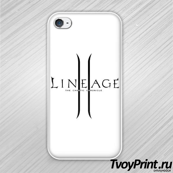 Чехол iPhone 4S Lineage