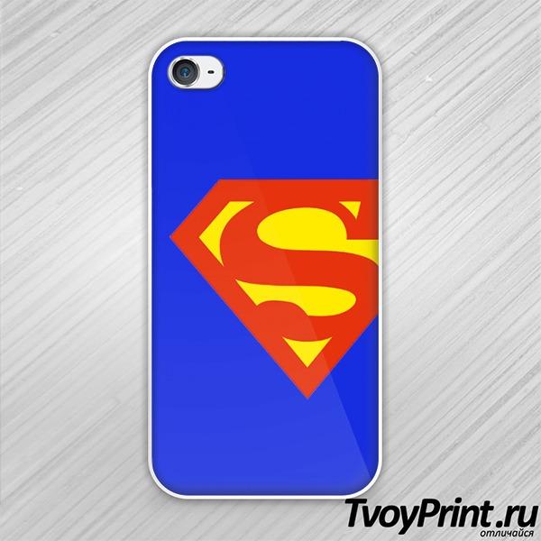 Чехол iPhone 4S SuperMan