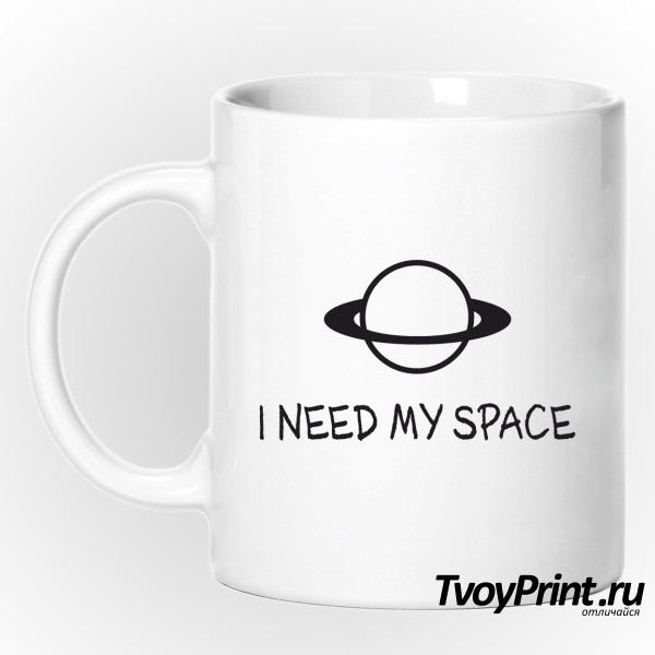 Кружка I NEED MY SPACE