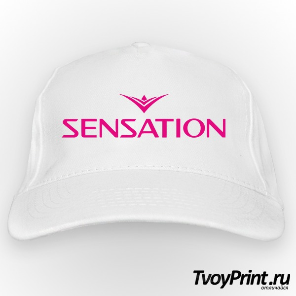 Бейсболка Sensation розовый