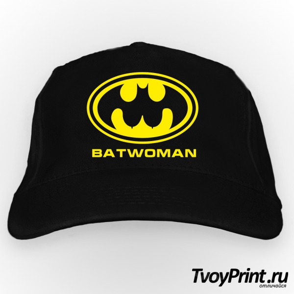 Бейсболка BatWoman