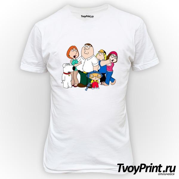 Футболка Гриффины (Family Guy)