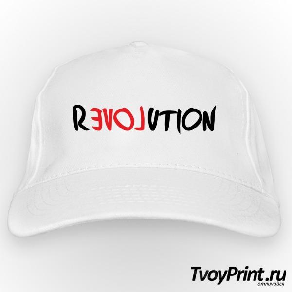 Бейсболка love revolution