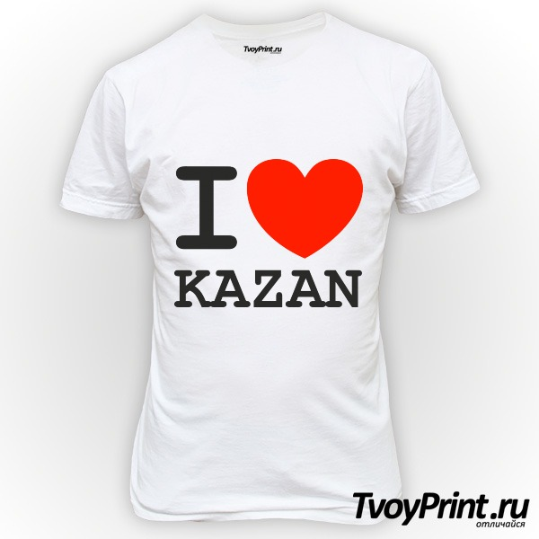 Футболка Казань