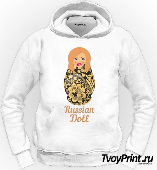 Толстовка Матрешка блондинка short