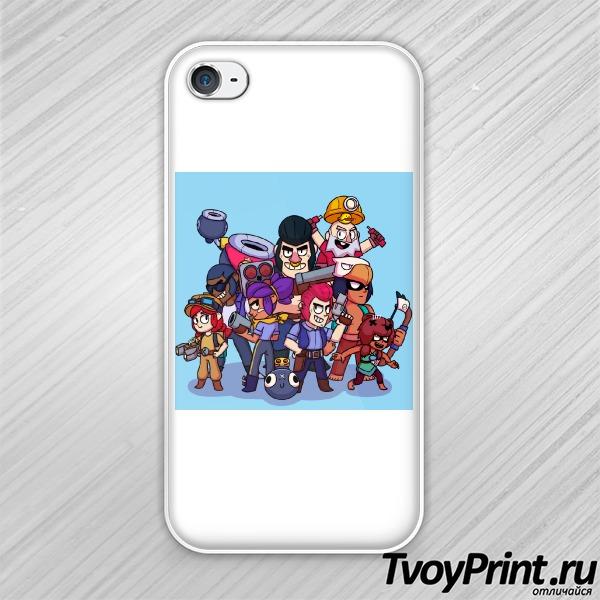 Чехол iPhone 4S brawl stars 1