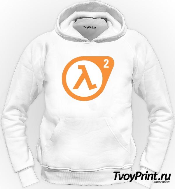 Толстовка Half Life 2 logo