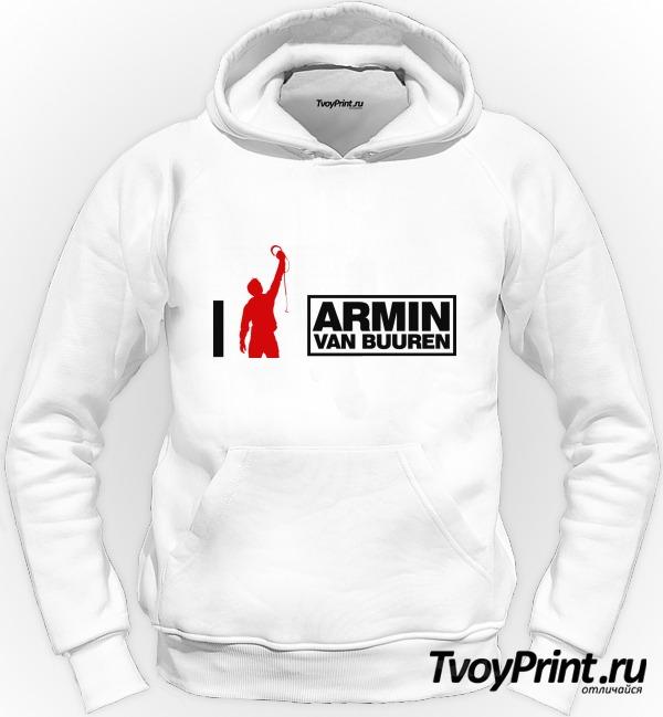 Толстовка Armin Van Buuren