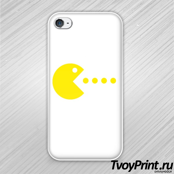 Чехол iPhone 4S pac-man