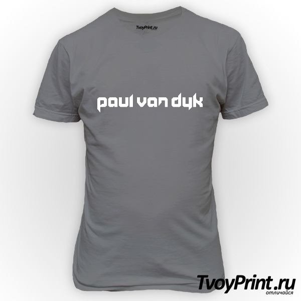 Футболка Paul Van Dyk (2)