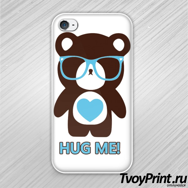 Чехол iPhone 4S Hug me