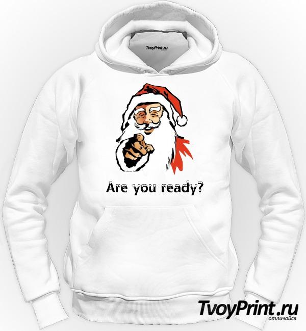 Толстовка новогодняя are you ready
