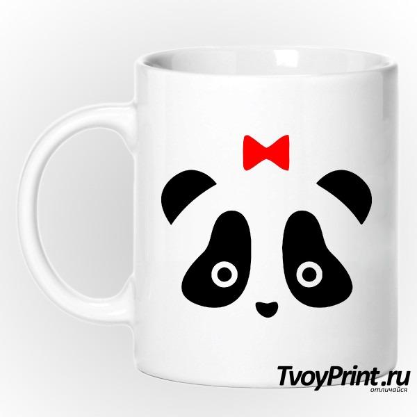 Кружка Панда жен