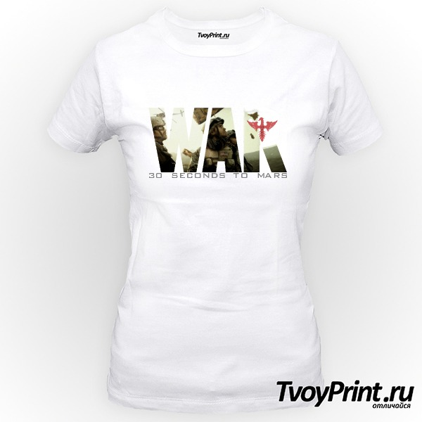 Футболка 30 seconds to mars War
