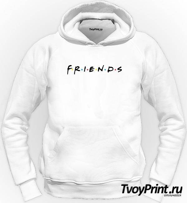 Толстовка the friends logo