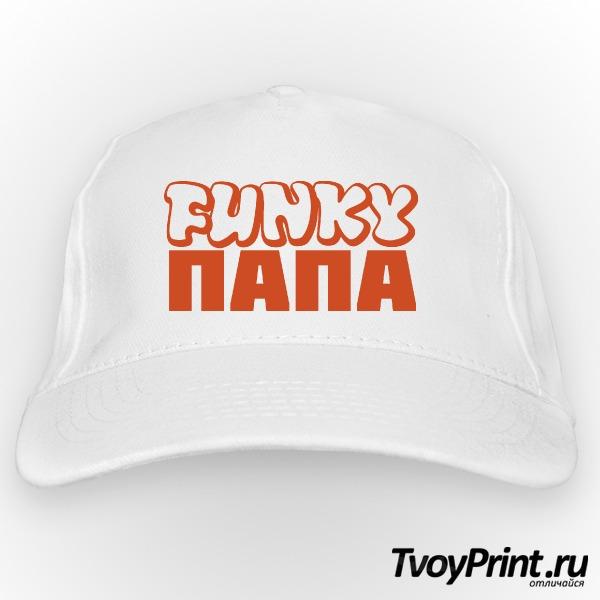 Бейсболка Funky ПАПА (муж.)