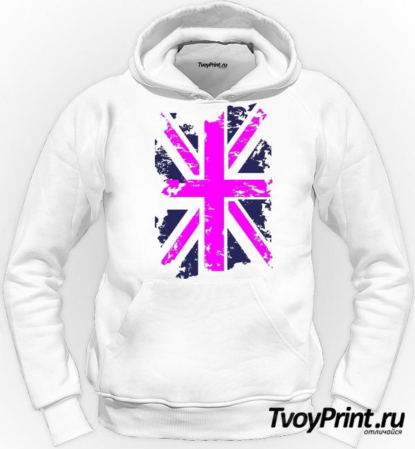 Толстовка Флаг Великобритании (роз.)